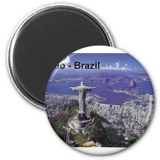 Rio de Janeiro du Brésil (St.K.) Aimants Pour Réfrigérateur