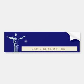 Rio de Janeiro du Christ Autocollant De Voiture