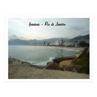 Rio de Janeiro - Ipanema Carte Postale