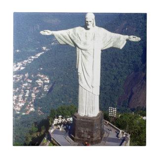 Rio de Janeiro Jésus du Brésil (nouveau) (St.K) Petit Carreau Carré