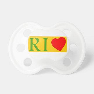 Rio de janeiro love sucette pour bébé