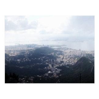 Rio de Janeiro nuageux Cartes Postales