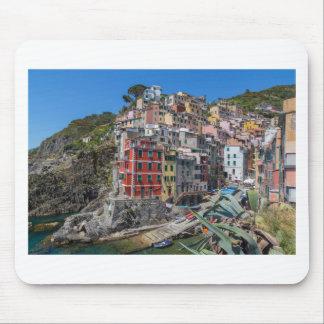 Riomaggiore Cinque Terre Ligurie Italie Tapis De Souris
