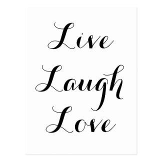 - Rire - amour vivant Carte Postale