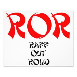 Rire de ROR Raff Roud Lol fort Prospectus