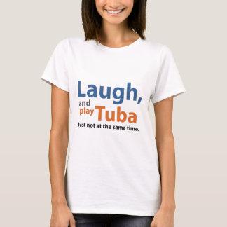 Rire et tuba de jeu t-shirt
