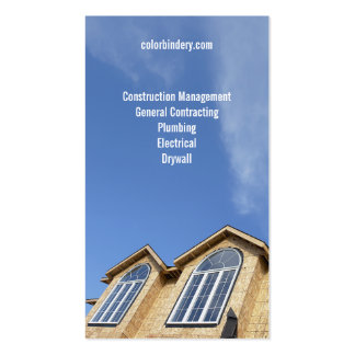 Rising Sky Contractor Business Card Pack Of Standard Business Cards