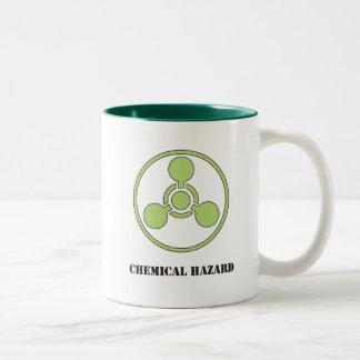 Risque chimique tasse à café