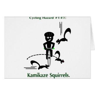 Risque de recyclage : écureuils de kamikaze cartes