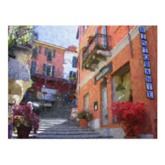 Ristorante Bilacus, carte postale de Bellagio