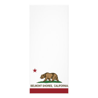 Rivages de Belmont de drapeau d ours de République Cartons D'invitation