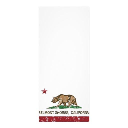 Rivages de Belmont de drapeau d'ours de République Invitations