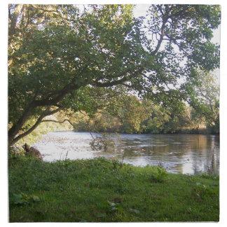 Rivière de château de Doune Serviettes En Tissus