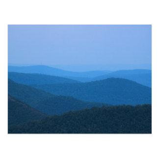 Rivière de Deerfield de montagne est Berkshires Cartes Postales
