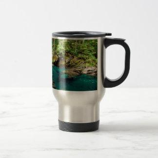 Rivière Ohanapecosh Mt plus pluvieux Mug De Voyage