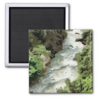 Rivière rapide aimant