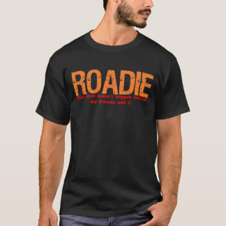 Roadie - chemise de description du poste t-shirt