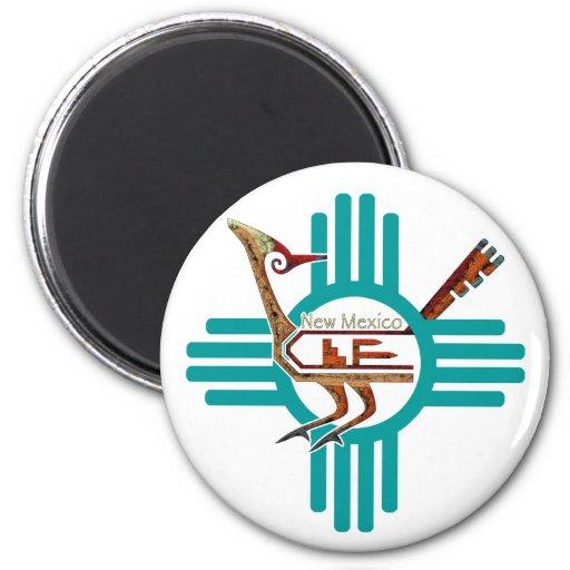 Roadrunner du Nouveau Mexique Magnets Pour Réfrigérateur