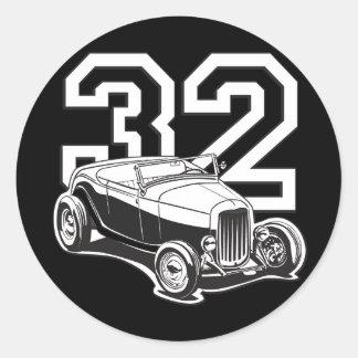 Roadster 32 autocollants