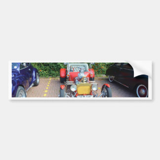 Roadster classique de hot rod autocollant de voiture