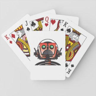 Robbie les cartes de jeu de robot du TOIT de livre Cartes À Jouer