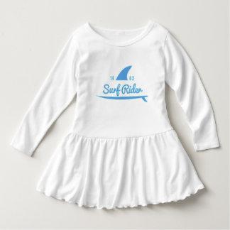 Robe A Volant Bébé Fille Surf