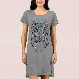 Robe américaine de T-shirt de l'habillement des