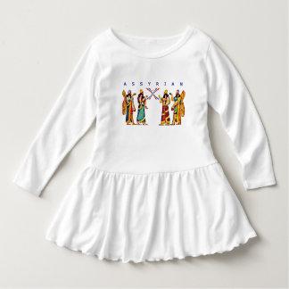 Robe assyrienne de ruche d'enfant en bas âge