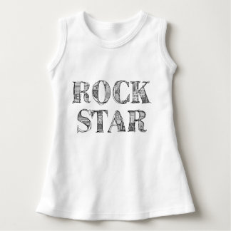 "Robe bébé ""Rock Star"""