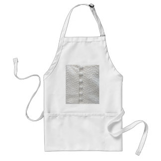 Robe blanche du mariage I - personnalisable Tablier