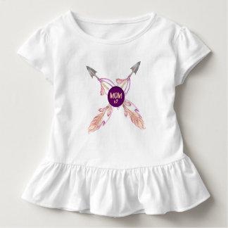 Robe de Bohème de ruche de bébé de flèches de