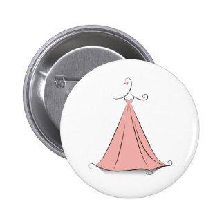 Robe de demoiselle d'honneur pin's avec agrafe