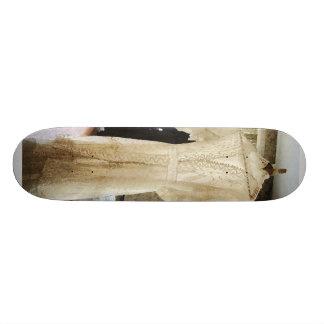 Robe de mariage du 19ème siècle skateboards personnalisés