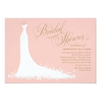 Robe de mariage élégante nuptiale de l'invitation