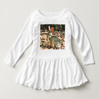 Robe de ruche d'enfant en bas âge de lapin de bébé