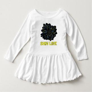 """Robe de ruche d'enfant en bas âge """"montrez amour"""""""