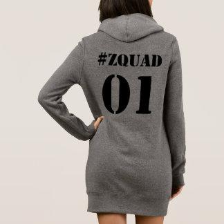 Robe de sweat - shirt à capuche de #ZQUAD