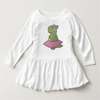Robe de T-Rex de dinosaure de filles d'enfant en