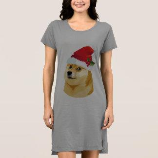 Robe Doge de Noël - doge de père Noël - chien de Noël