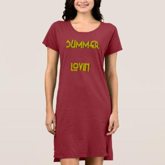 Robe du T-shirt des femmes de Lovin d'été