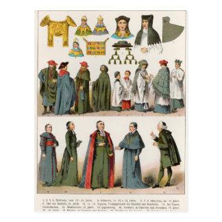 Robe ecclésiastique carte postale