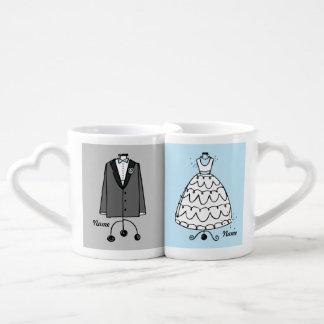 Robe et Tux de mariage Mug