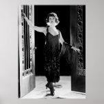 Robe fabuleuse d'aileron : les années 1920 affiche