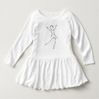 Robe Manches Longues Conception de danse de ballet