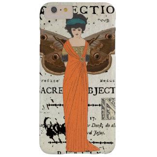 Robe orange de femme à ailes par Fatale de Femme Coque Barely There iPhone 6 Plus