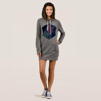 Robe sacrée de sweatshirt de la géométrie
