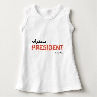 Robe Sans Manche Madame le Président Baby/robe d'enfant en bas âge