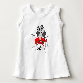 Robe Sans Manche musicien de panda