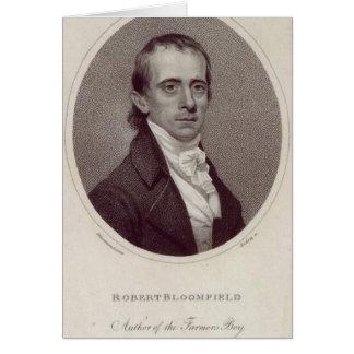 Robert Bloomfield Carte De Vœux