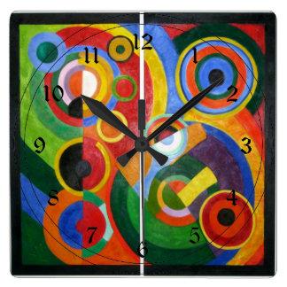 Robert Delaunay : Rythme Pendules Murales